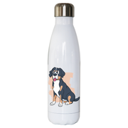 Swiss mountain dog water bottle stainless steel reusable - Graphic Gear