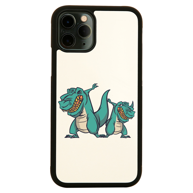 Dabbing dinosaurs iPhone case cover 11 11Pro Max XS XR X - Graphic Gear