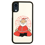 Meditating santa claus iPhone case cover 11 11Pro Max XS XR X - Graphic Gear