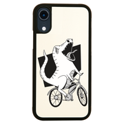 Biker dinosaur iPhone case cover 11 11Pro Max XS XR X - Graphic Gear