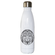 Ornamental sloth water bottle stainless steel reusable