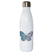 Crystal butterfly water bottle stainless steel reusable - Graphic Gear