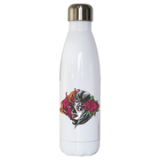 Mexican fire girl water bottle stainless steel reusable