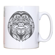 Ornamental sloth mug coffee tea cup - Graphic Gear
