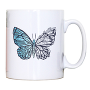 Crystal butterfly mug coffee tea cup - Graphic Gear