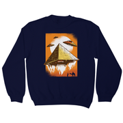 Pyramid ufo sweatshirt - Graphic Gear
