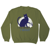Rebel cat funny sweatshirt - Graphic Gear