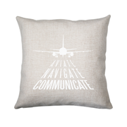 Aviation quote cushion cover pillowcase linen home decor