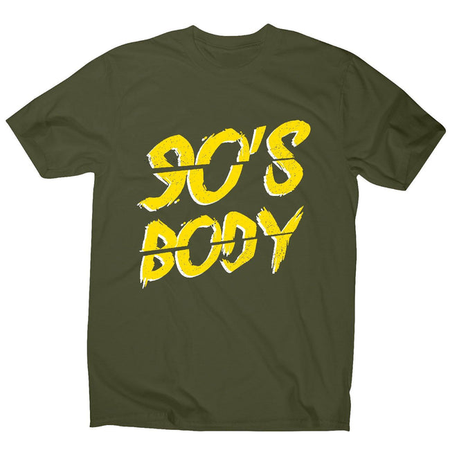 90's body - men's funny premium t-shirt - Graphic Gear