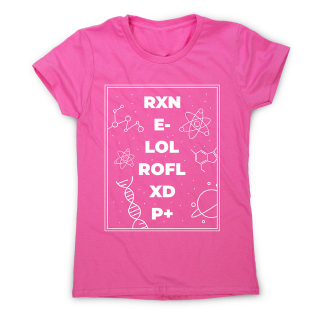 Funny science - women's funny premium t-shirt - Graphic Gear