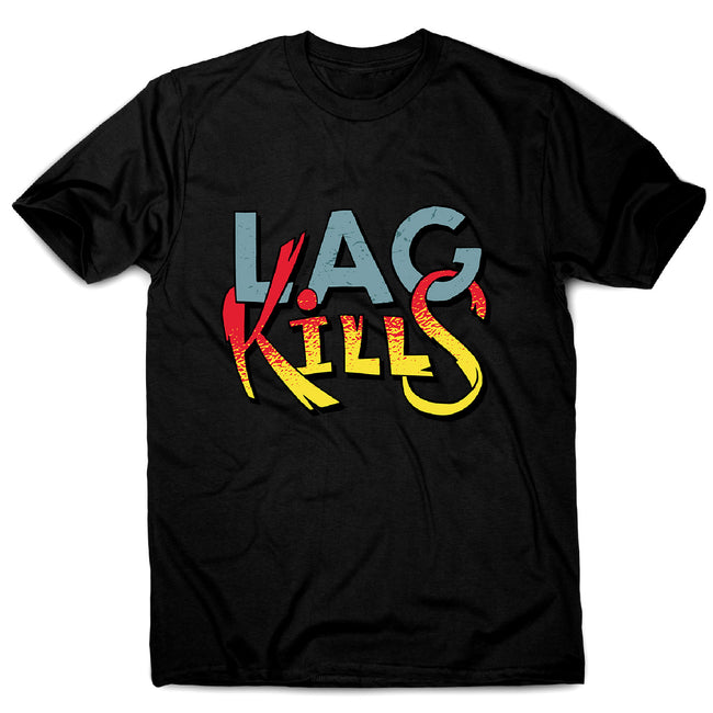 Gamer lag kills - men's funny premium t-shirt - Graphic Gear
