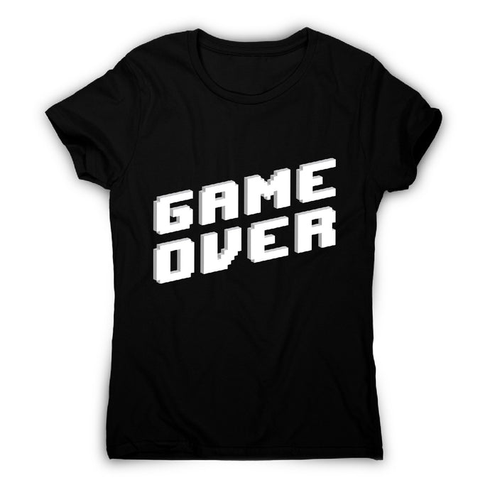Game over - women's t-shirt - Black / S - Graphic Gear