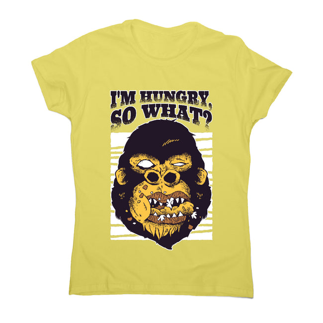 Gorilla hungry - illustration women's t-shirt - Graphic Gear