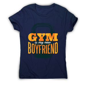 Gym boyfriend - women's t-shirt - Graphic Gear
