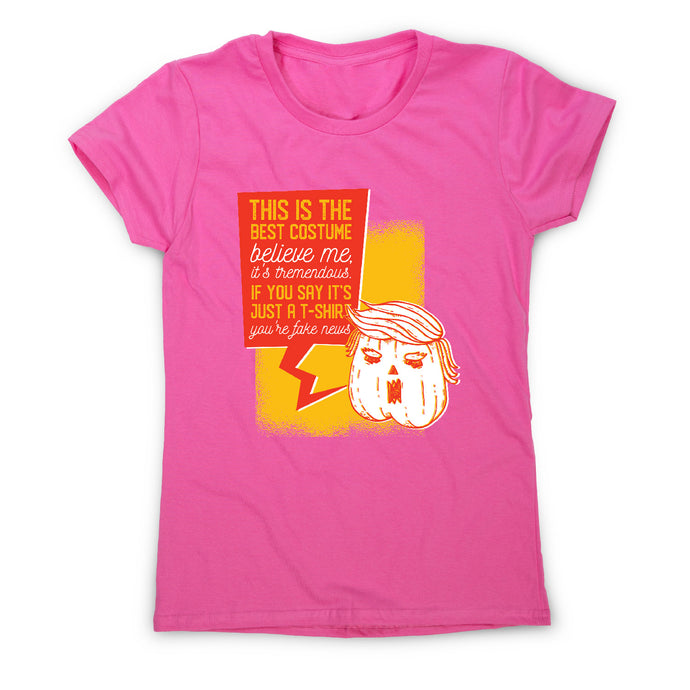 Halloween costume funny - women's t-shirt - Pink / S - Graphic Gear