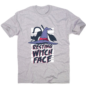 Halloween resting witch face - men's t-shirt - Graphic Gear