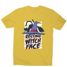 Load image into Gallery viewer, Halloween resting witch face - men's t-shirt - Graphic Gear