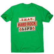 Hard rock life - men's music festival t-shirt - Graphic Gear
