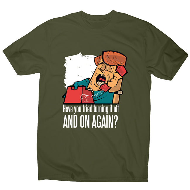 Have you tried - men's funny premium t-shirt - Graphic Gear