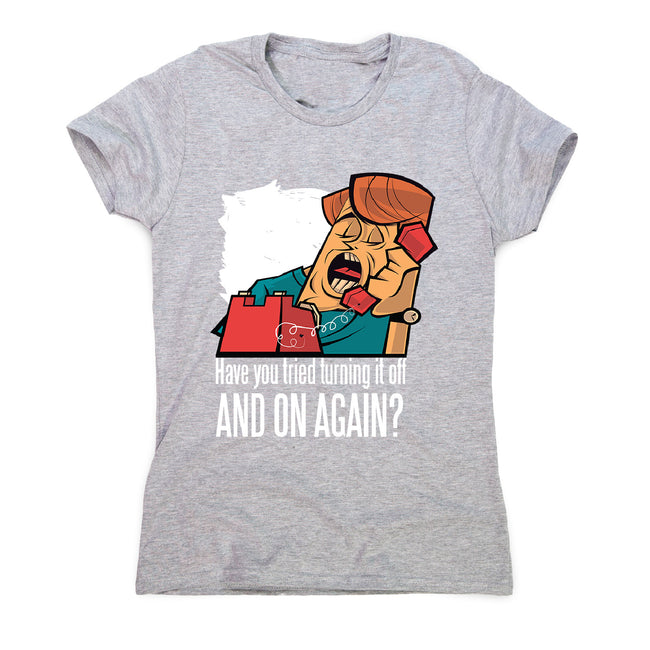 Have you tried - women's funny premium t-shirt - Graphic Gear