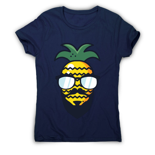 Hipster pineapple - women's funny premium t-shirt - Graphic Gear