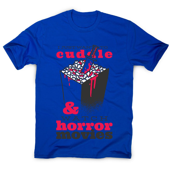 Horror movie quote - men's funny premium t-shirt - Graphic Gear