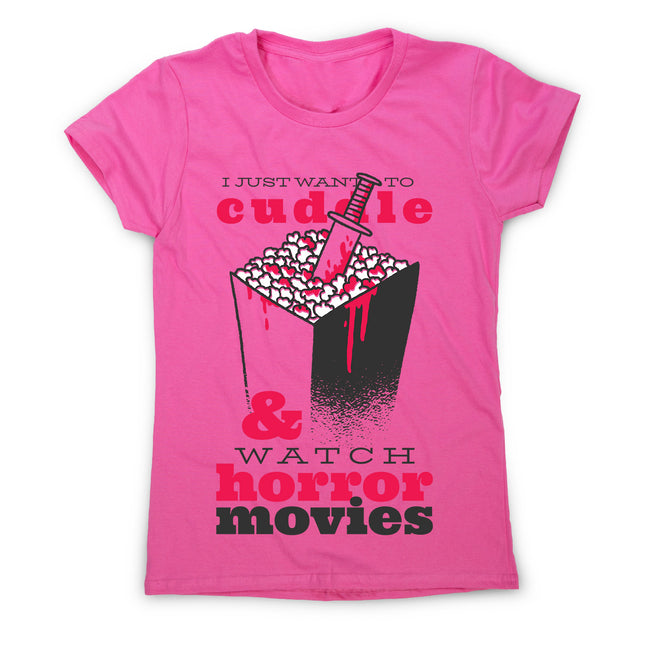 Horror movie quote - women's funny premium t-shirt - Graphic Gear