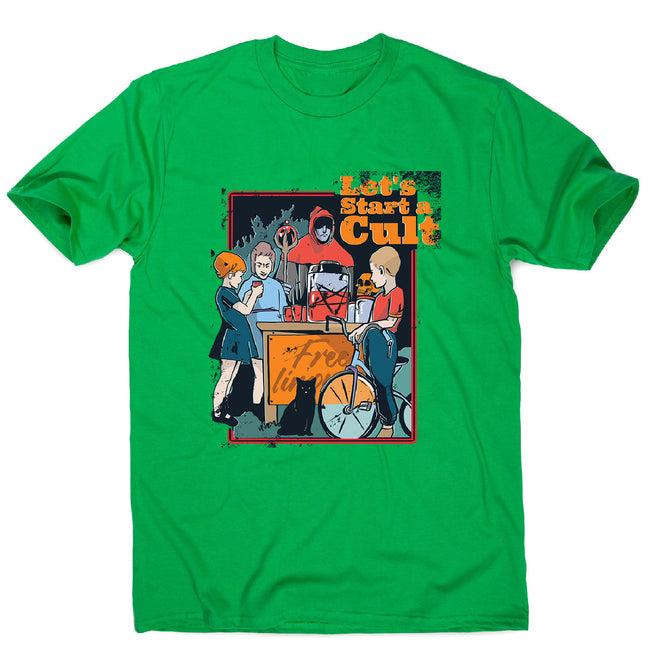Kids cult - men's funny illustrations t-shirt - Graphic Gear