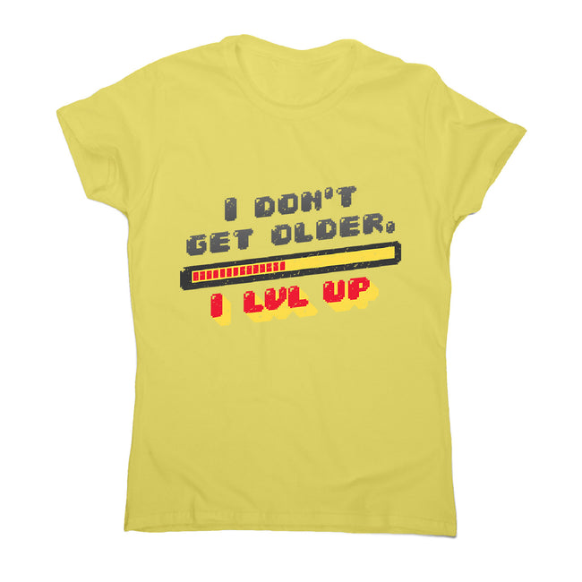 Level up - women's funny premium t-shirt - Graphic Gear