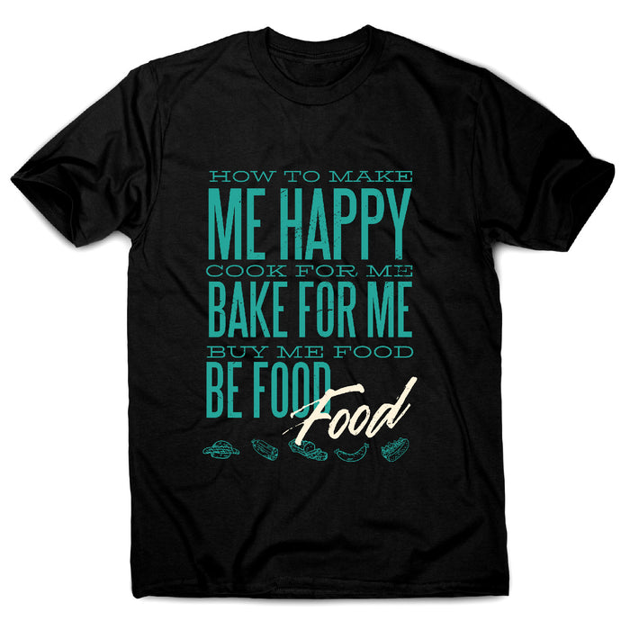 Love food - men's funny premium t-shirt - Graphic Gear