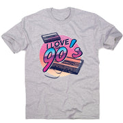 Love the 90's - men's music festival t-shirt - Graphic Gear
