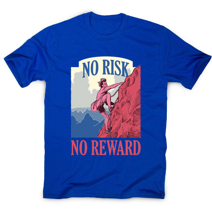 Mountain climber adventure lifestyle - men's motivational t-shirt - Graphic Gear