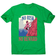 Load image into Gallery viewer, Mountain climber adventure lifestyle - men's motivational t-shirt - Graphic Gear