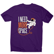 Need more space - men's funny illustrations t-shirt - Graphic Gear