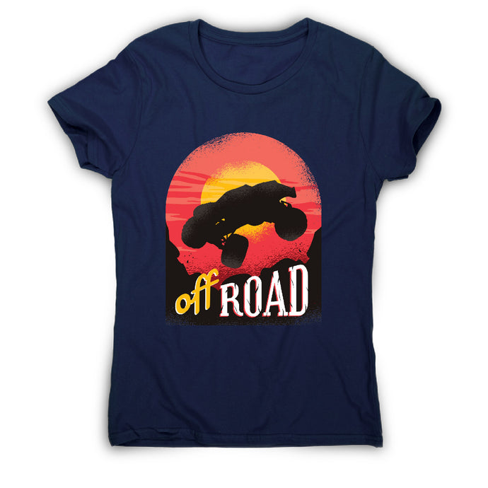 Off road - car driving women's t-shirt - Graphic Gear