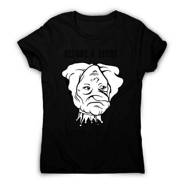Optical illusion - women's funny premium t-shirt - Graphic Gear