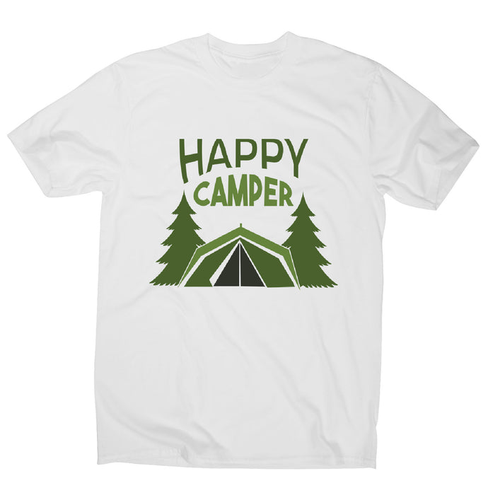Outside camping - men's funny premium t-shirt - Graphic Gear