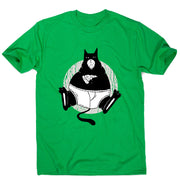 Pizza cat - men's funny premium t-shirt - Graphic Gear