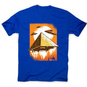 Pyramid ufo - funny ufo men's t-shirt - Graphic Gear