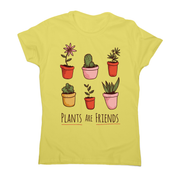 Plants are friends awesome t-shirt women's - Graphic Gear