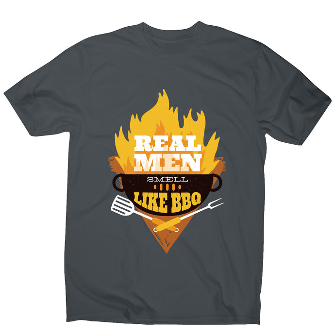 Real men - funny men's t-shirt - Graphic Gear