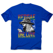 Reggae one love - men's music festival t-shirt - Graphic Gear