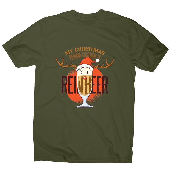 Reinbeer christmas - men's t-shirt - Graphic Gear