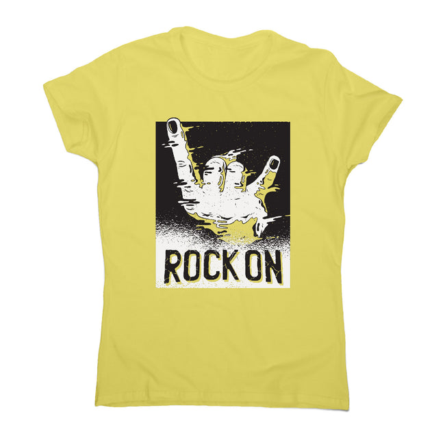 Rock on - music women's t-shirt - Graphic Gear