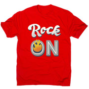 Rock on quote - men's music festival t-shirt - Graphic Gear