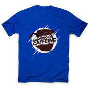 Running on caffeine - coffee men's t-shirt - Graphic Gear