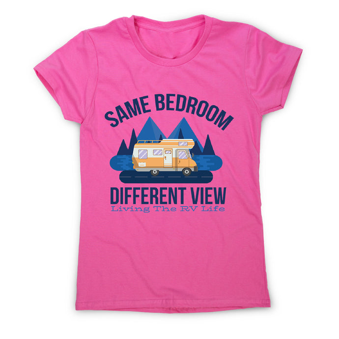 Rv life quote - women's funny premium t-shirt - Pink / S - Graphic Gear