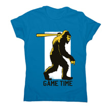 Load image into Gallery viewer, Sasquatch hunting - women's funny premium t-shirt - Graphic Gear