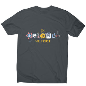 Science quote - men's funny premium t-shirt - Graphic Gear