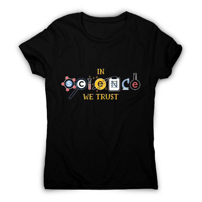 Science quote - women's funny premium t-shirt - Graphic Gear